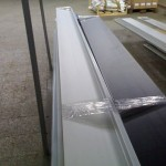 Balení parapetů v našem skladu
